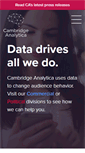 Mobile Preview of cambridgeanalytica.org